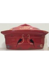 Terrine ovale pour 10 à 12 personnes - Rouge Bretzel